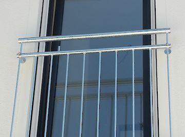 Französische Balkone Französischer Balkon verzinkt
