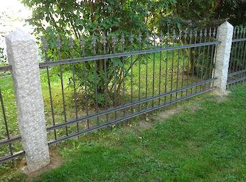Zäune Zaun mit Spitzen