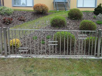 Zäune Zaun Edelstahl