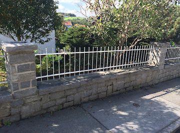 Zäune Zaun verzinkt