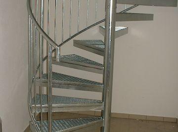 Treppen Wendeltreppe verzinkt